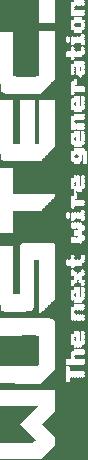 WusTec Logo Weiß in Menü